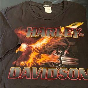 Harley-Davidson black t shirt size XL